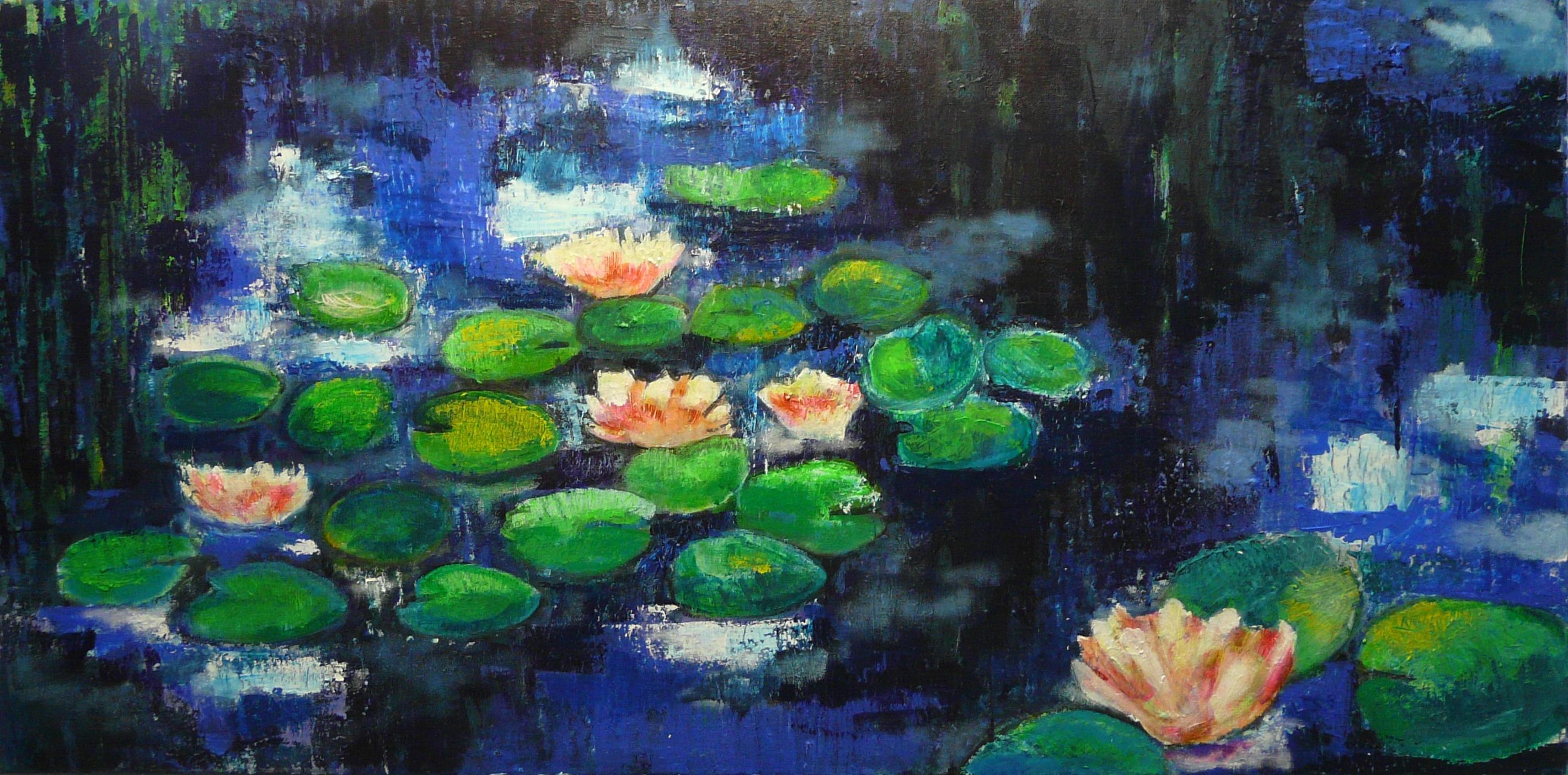 de lelies van mevrouw Monet