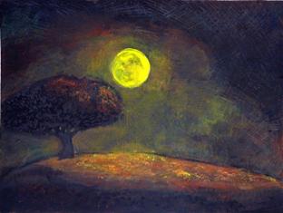 nachtschilderij klein
